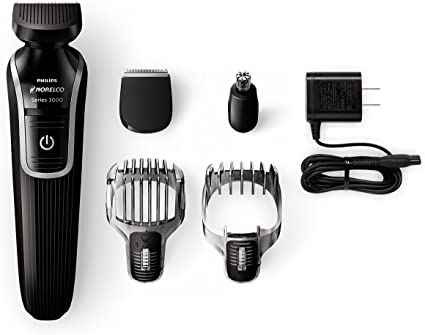 Philips Norelco Multigroom Series 3100, 5 accesorios, QG3330 ...