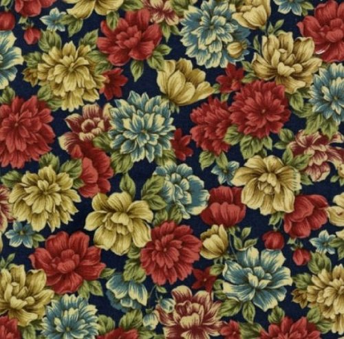 Robert Kaufman 'Coventry Court' Allover Floral Cotton Fabric By the Yard