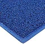 Durable Corporation 681 Extruded Vinyl DuraLoop Entrance Mat, Indoor, Outdoor and Vestibule Areas, 48'' Width x 72'' Length x 0.47'' Thickness, Blue