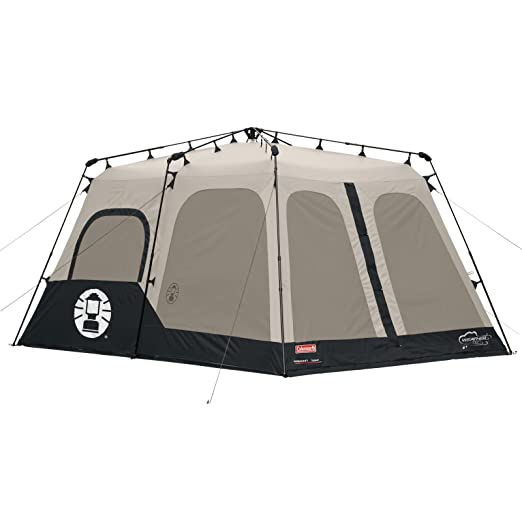 Coleman 8-Person Instant Tent - strong walls  sc 1 st  Nature Immerse : coleman instant up tent 3 person - memphite.com