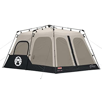 Amazon.com  Coleman Instant 8 Person Tent Black 14x10-Feet  Sports u0026 Outdoors  sc 1 st  Amazon.com & Amazon.com : Coleman Instant 8 Person Tent Black 14x10-Feet ...