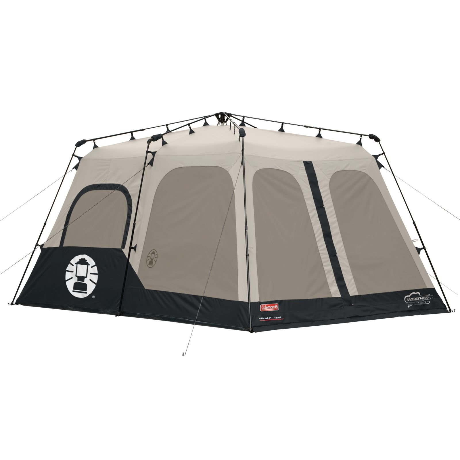 Details about Coleman 2000018295 8-Person Instant Tent Black (14x10 Feet) Free Shipping  sc 1 st  eBay & Coleman 2000018295 8-Person Instant Tent Black (14x10 Feet) Free ...