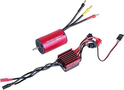 1//12 1//14 1//16 RC Car Model 35A Brushless ESC for Sensorless Brushless Motor