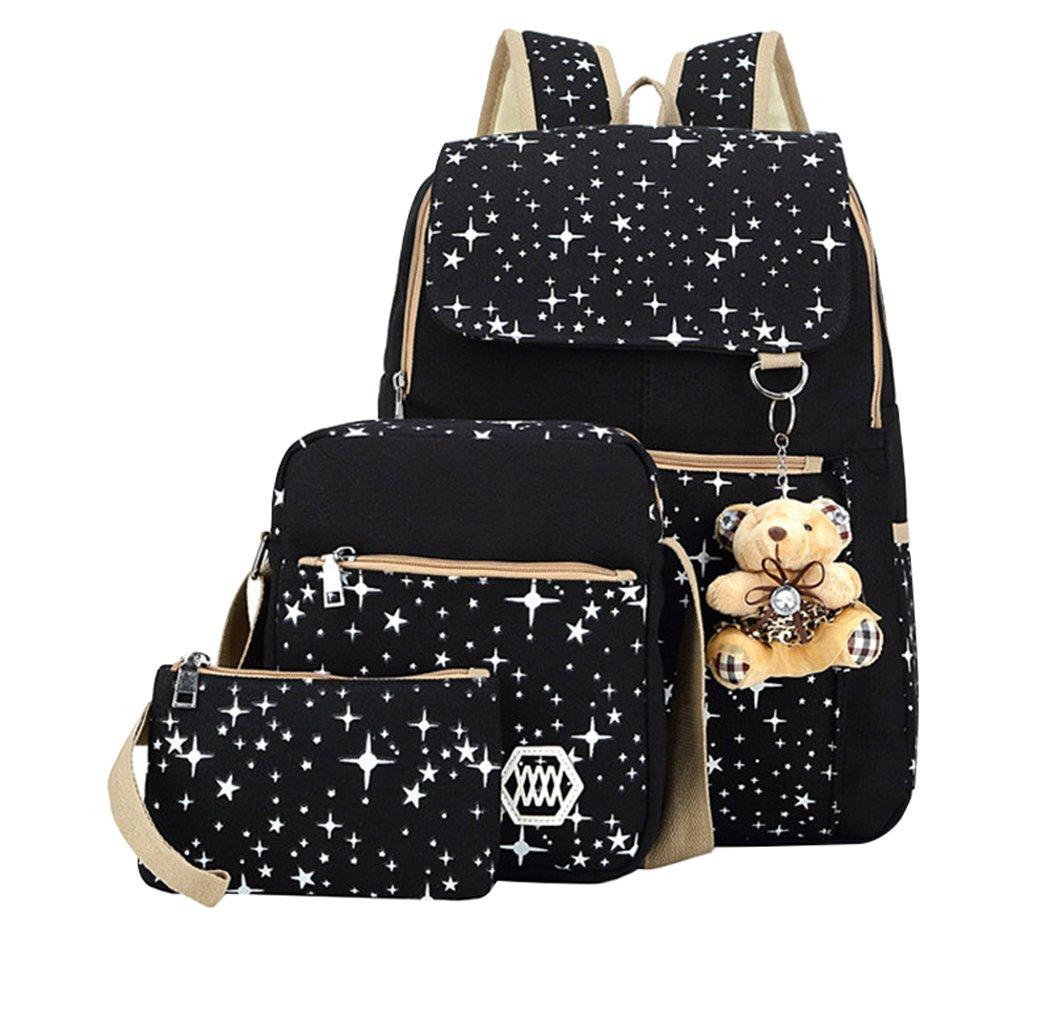 Amazon.com: Fanci mochila para el colegio, con cartuchera ...