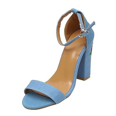 Vectry High Heels Sandalen Plateau Sandalen Damen Riemchen Schuhe Offene  Schuhe Stiefel SchnüRen Stiefel Bequeme Plato d0e1b681f3