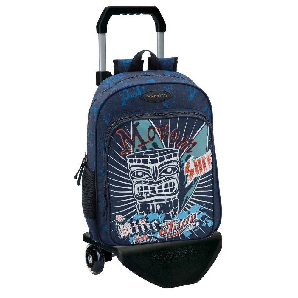 Movom 33823M1 Mochila Escolar, 19.2 Litros, Color Azul: Amazon.es: Equipaje