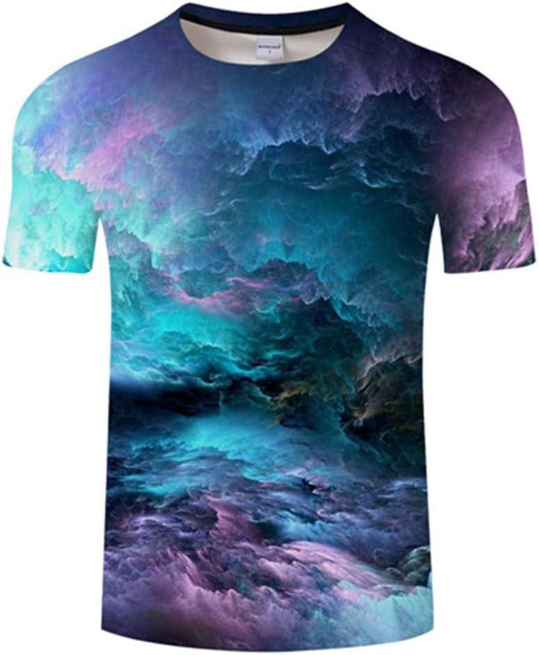 Cyuang Camiseta 3D Camiseta De Flaming Azul Camiseta De Hombre Camiseta 3D Camiseta Negra Top Informal Camiseta De Manga Corta De Manga Corta 4XL: Amazon.es: Deportes y aire libre