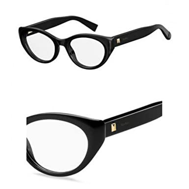 88799f73517d Image Unavailable. Image not available for. Color: Max Mara Plastic Cat Eye  Eyeglasses 50 0807 Black
