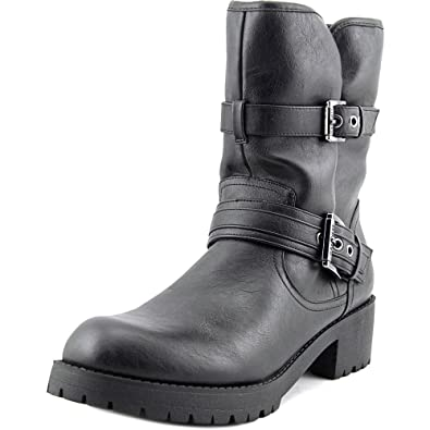 Minion 2 Women US 8 Black Mid Calf Boot