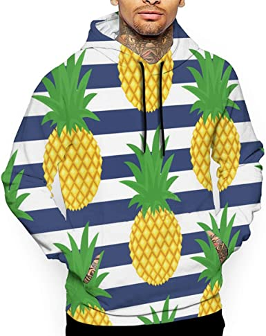 Amazing Nature T-Shirt Hooded with A Pocket Rope Hat Customization Fashion Novelty 3D Mens