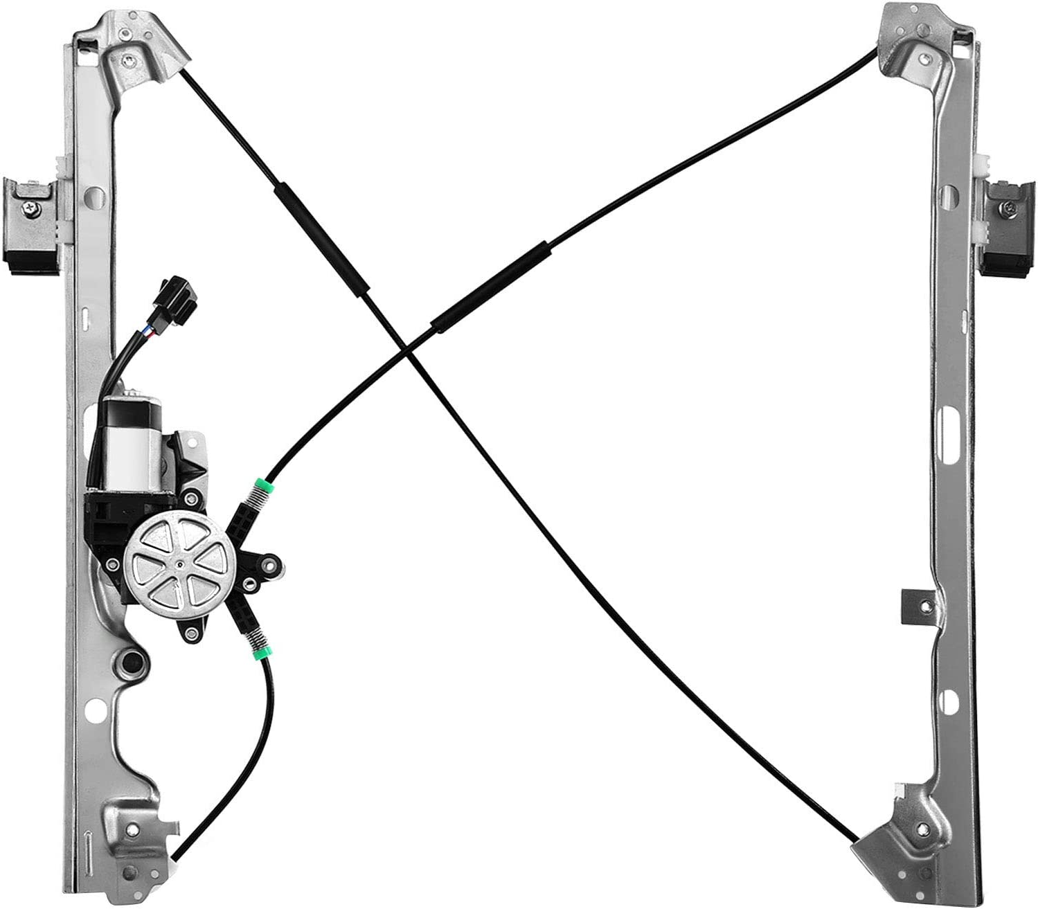 Window Regulator w// Motor For Chevy Avalanche Front LH Driver 02-06