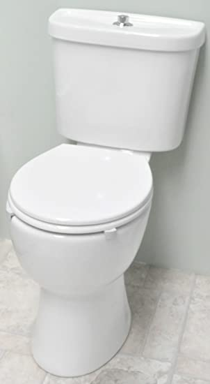 i care disabled doc m close coupled toilet comfort height pan soft close seat