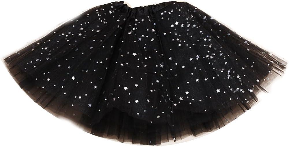 Free Fisher Jupe Courte Tutu Petticoat Tulle Costume Fille Enfant Ballet Bal//soir/ée//repr/ésentation