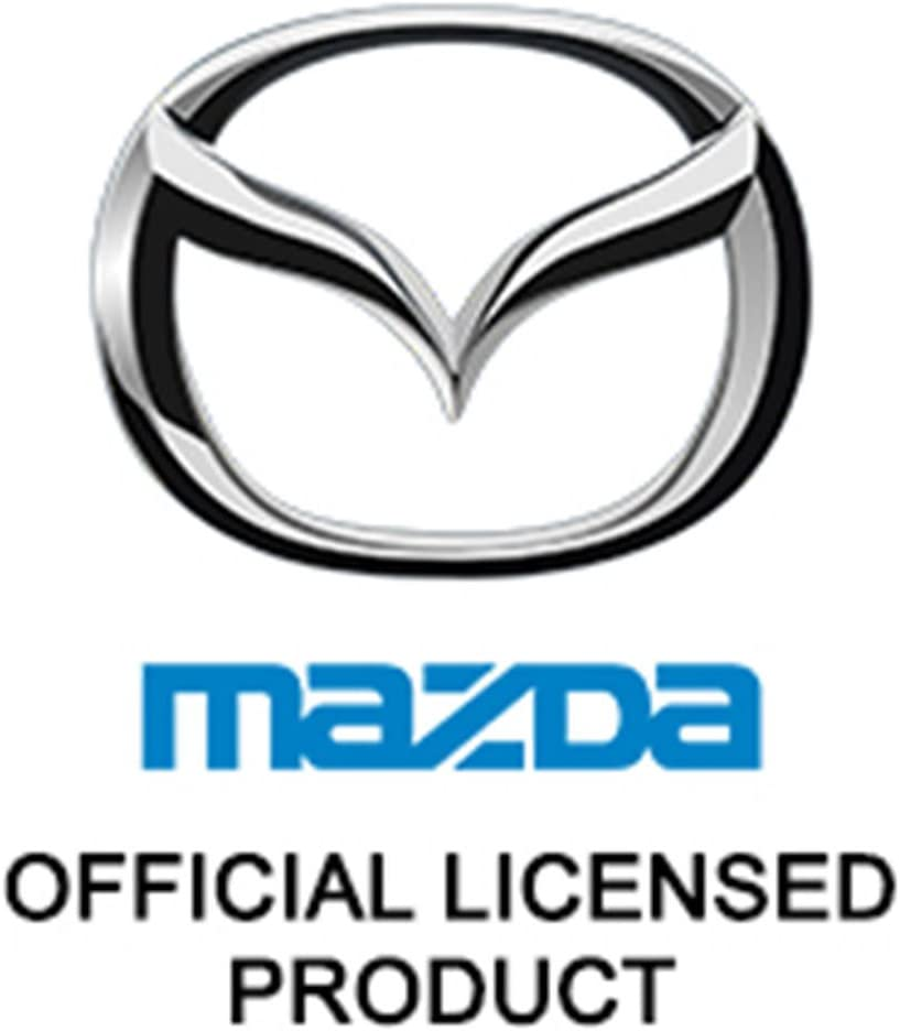 Mazda 3D Black Infill Chrome Logo Tow Hitch Cover INC Au-Tomotive Gold Official Licensed