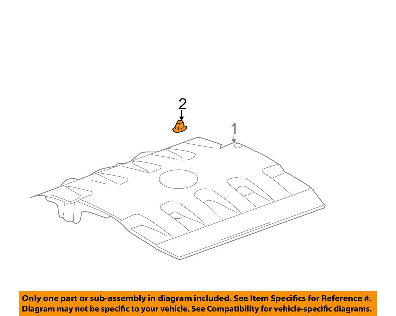 GM OEM Engine Appearance Cover-Manifold Cover Nut 3538774