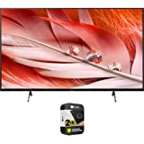 Sony XR50X90J 50-inch X90J 4K Ultra HD Full Array LED Smart TV (2021 Model) Bundle with Premium 2 Year Extended Protection Pl