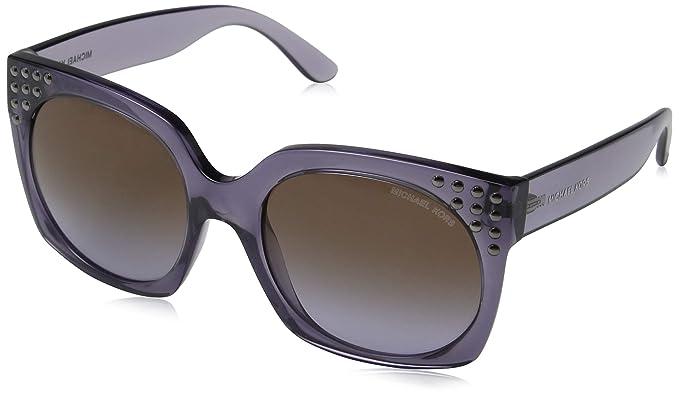 Michael Kors 0MK2067, Gafas de Sol para Mujer, Dark Purple ...