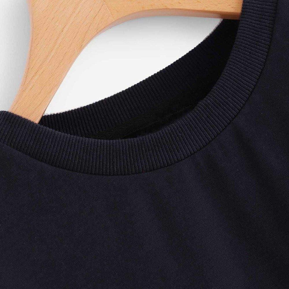 EIJFKNC Sweatshirt Blackpink Sweatshirts weibliches Tricolor Patchwork Sweatshirt Rundhals Langarm Fashion Womens Pullover PK