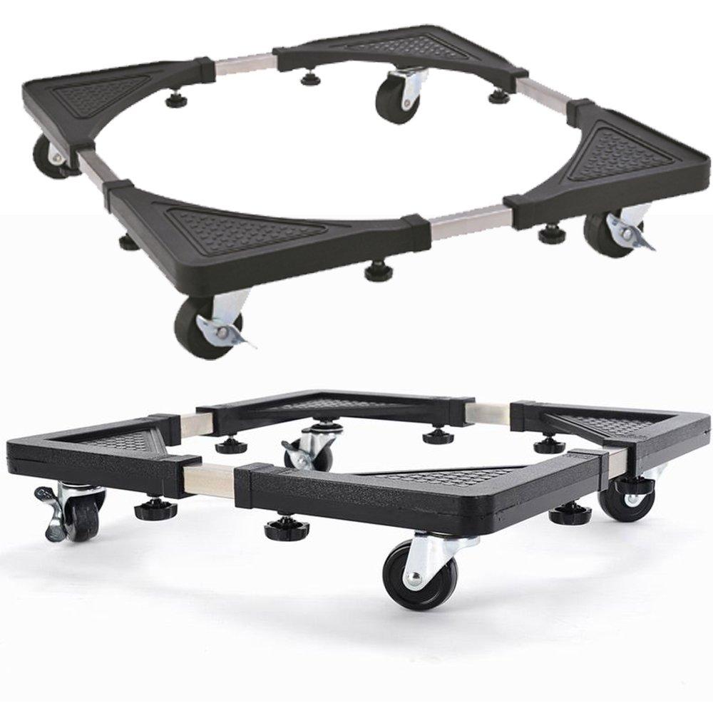 Base con ruedas FB FunkyBuys®, multiusos y ajustable, carrito para frigorífico y lavadora: Amazon.es: Hogar