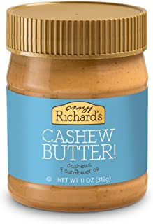 product image for Crazy Richard's Natural Cashew Butter, 11 Ounce, 6 Count
