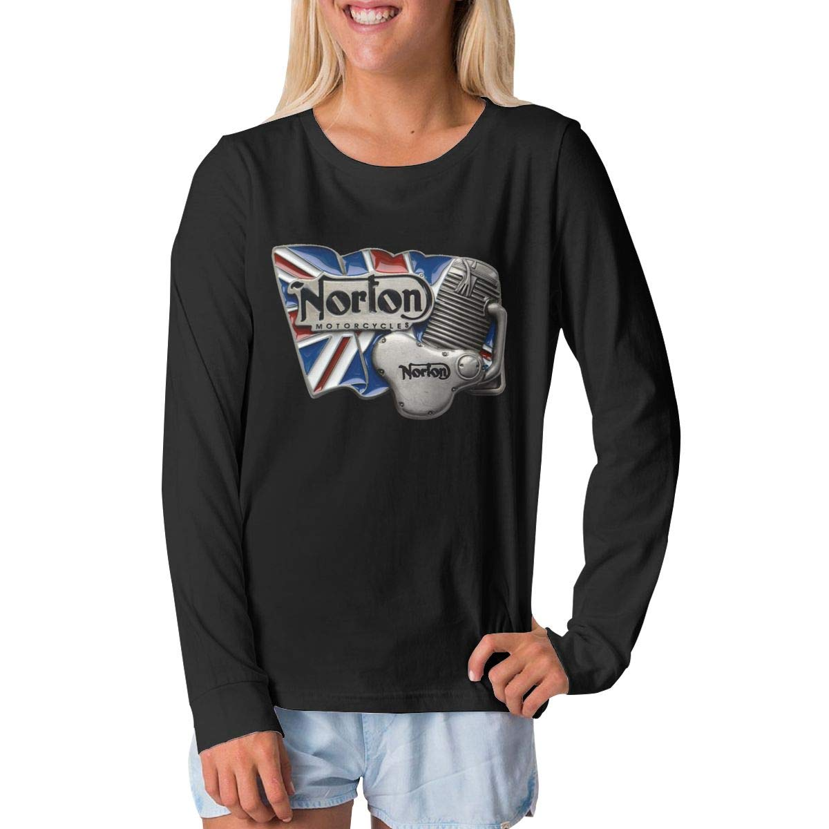 BilliePhillips Youngster Norton Motorcycles Classic Long Sleeve Tshirts