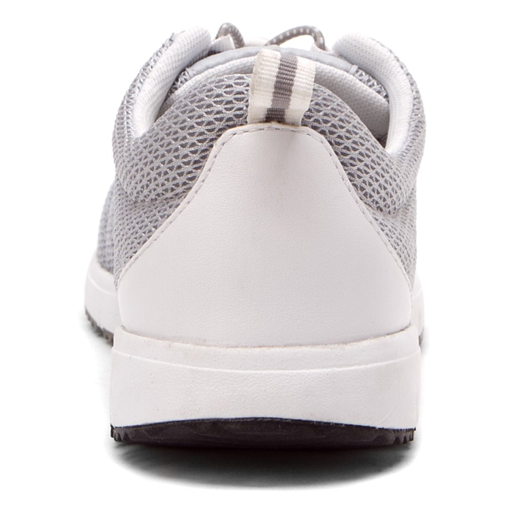 Propet Womens TravelWalker II Shoe Silver Mesh 11 X 2E
