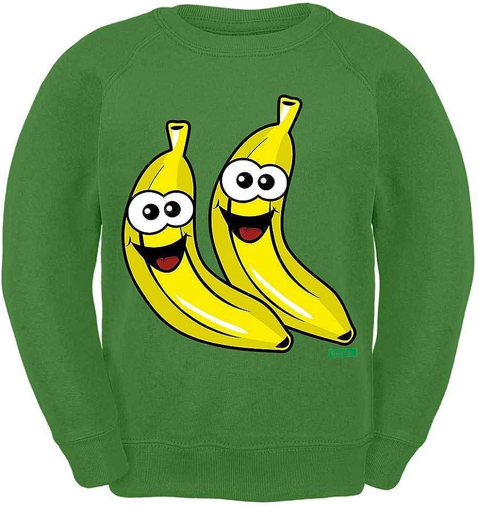 HARIZ Kinder Sweater Bananen Lachend Fr/üchte Sommer Plus Geschenkkarte