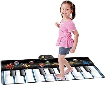 PUDDINGT® Teclado de Piano Tapete de Baile Fiesta Baile ...