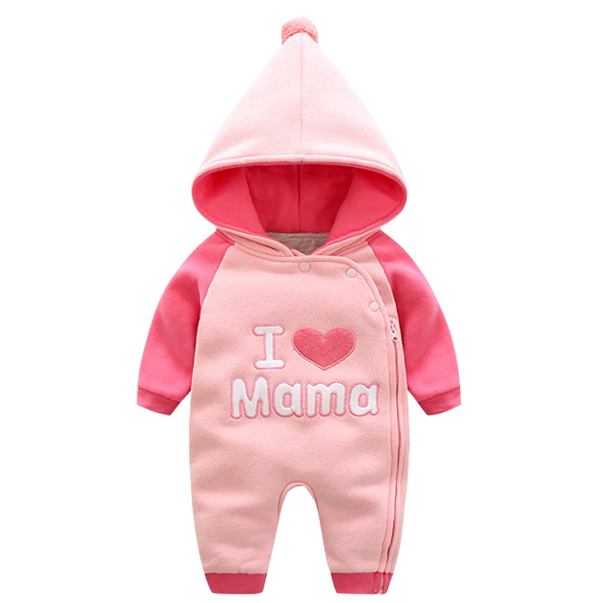 Bebone Infant Baby Girls Cotton Long Sleeve Romper