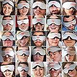 Manta Sleep Mask - 100% Blackout Eye Mask - Zero