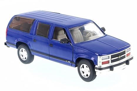 amazon com sunnyside 1993 chevy suburban, blue ss9601d 1 24 scale Chevy Suburban Toy eBay image unavailable