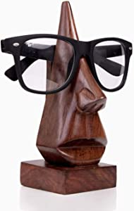 ARTISENIA Handmade Wooden Spectacle Eyeglass Holder Display Stand