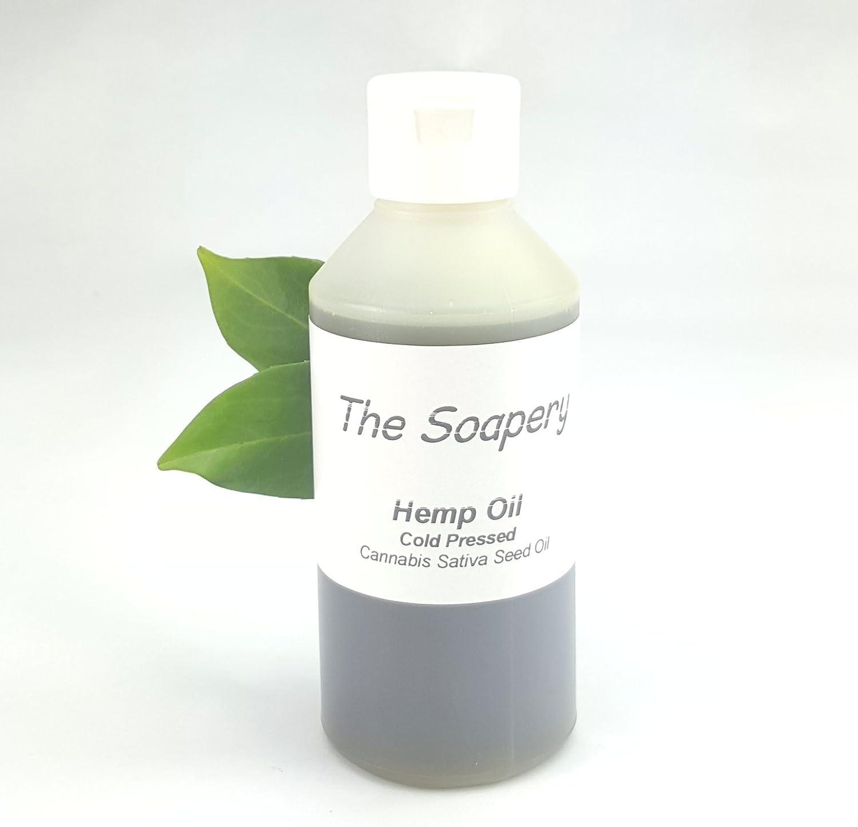 Aceite Vegetal de Semillas de Cáñamo 250ml - 100% puro, virgen, prensado en frío, vegano
