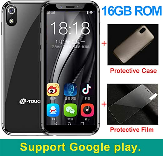 AXZXC Mini Smartphone Más Pequeño Teléfono Android 8.1 Quad Core ...
