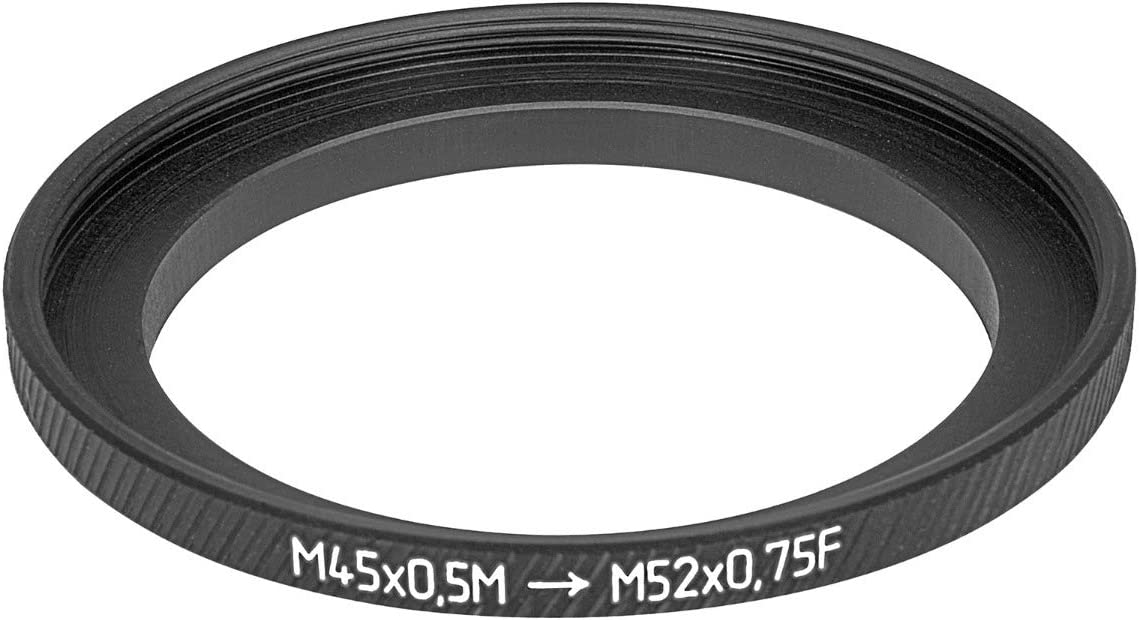 M45x0.5 Male to M52x0.75 Female Thread Adapter 45mm to 52mm Step-up Ring