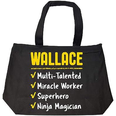 Amazon.com: Wallace Talented Superhéroe Ninja Name Pride ...