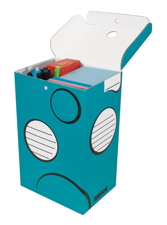 Boxa Brick   School Supply Organizer Box, 24 per Pack (6-BR04-0-BB-32)