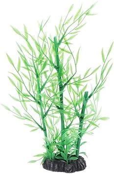 Loviver Kunstliche Aquarium Deko Pflanzen Bambus Bambus Stab Bambus Stabe Amazon De Haustier