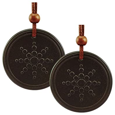 Magnaz combo pack of 2 quantum scalar energy pendant unisex black magnaz combo pack of 2 quantum scalar energy pendant unisex black pendant made from lava aloadofball Image collections
