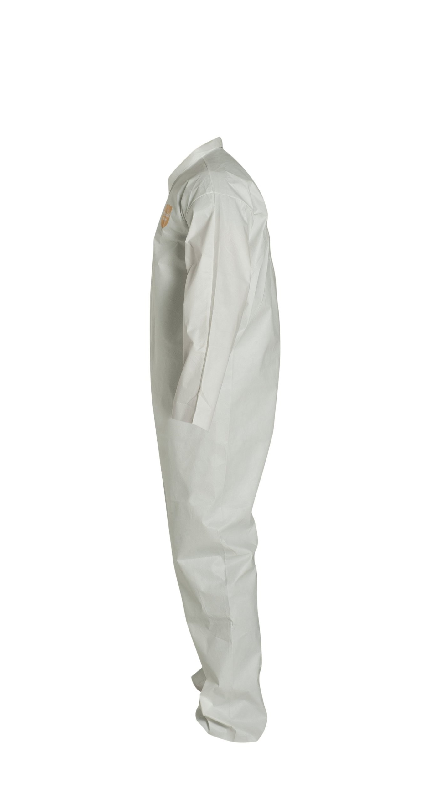 DuPont ProShield 60 NG120S Disposable Protective Coverall, Open Cuff, White, Medium (Pack of 25)