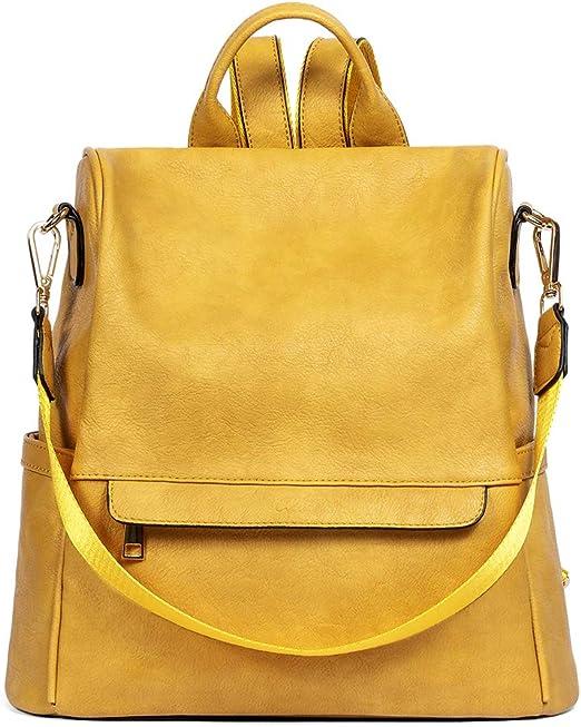 CLUCI Women Backpack Purse Fashion Leather Large Designer Travel Bag