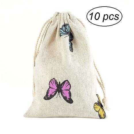 OUNONA Bolsas de regalo bolsa de la boda rústica favores ...