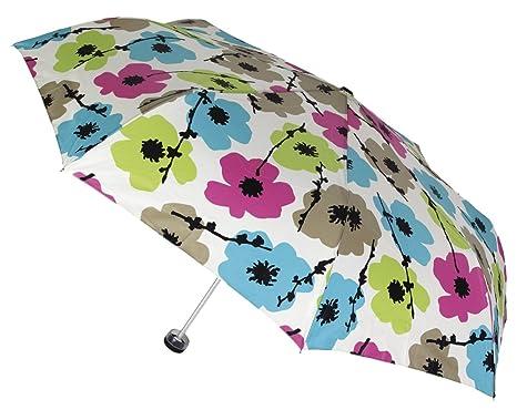 Paraguas VOGUE plegable con protección SOLAR. Bonito estampado
