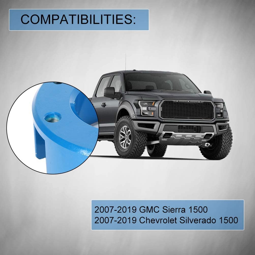 ECCPP Leveling Lift Kit Raise 3 inch Front Blue Compatible with 2007-2018 Chevy Silverado GMC Sierra 1500