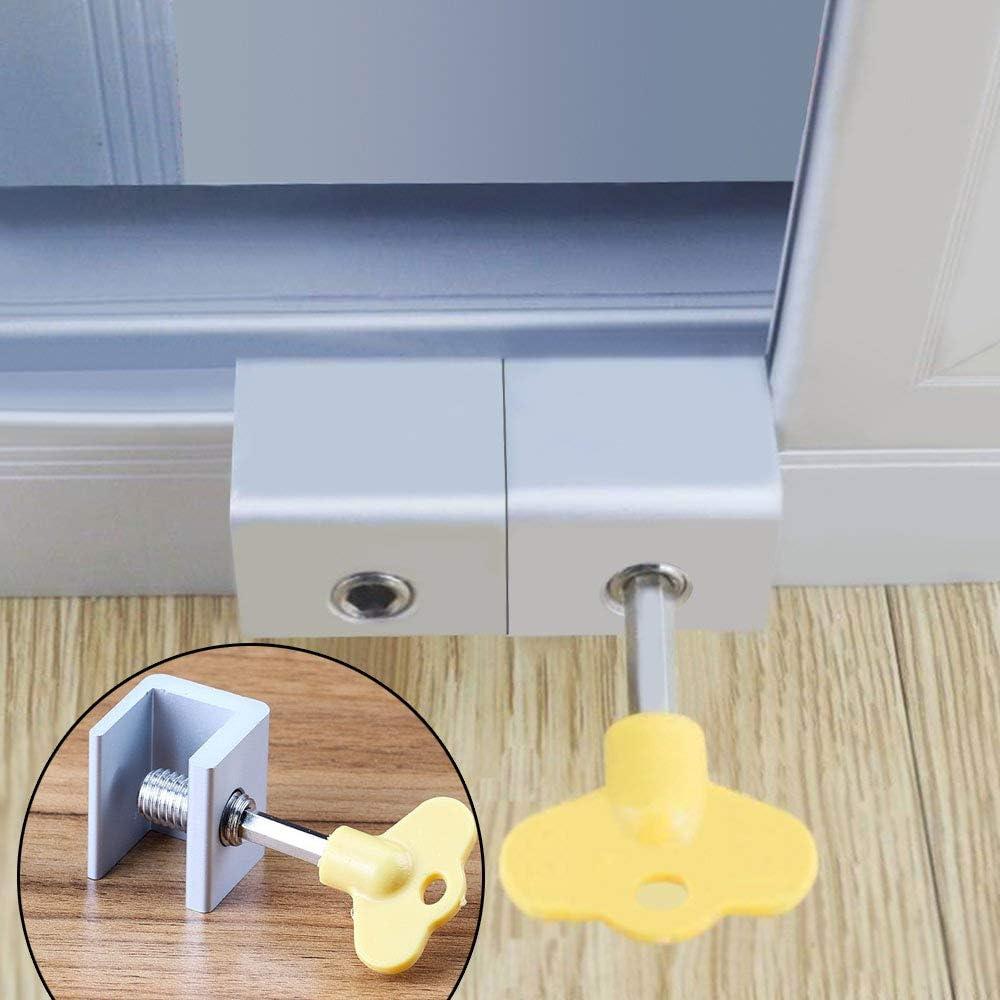 Cerradura de seguridad para marco de puerta, 5 unidades, de ...