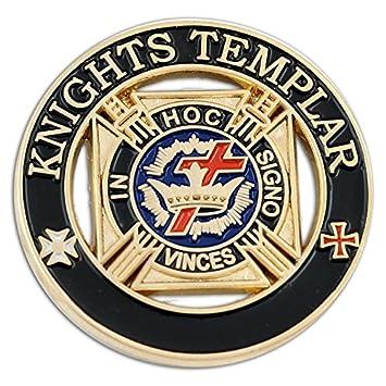 Kreuzritter Kreuzz/üge Ritterorden Kreuz rot l Anstecker l Abzeichen l Pin 145