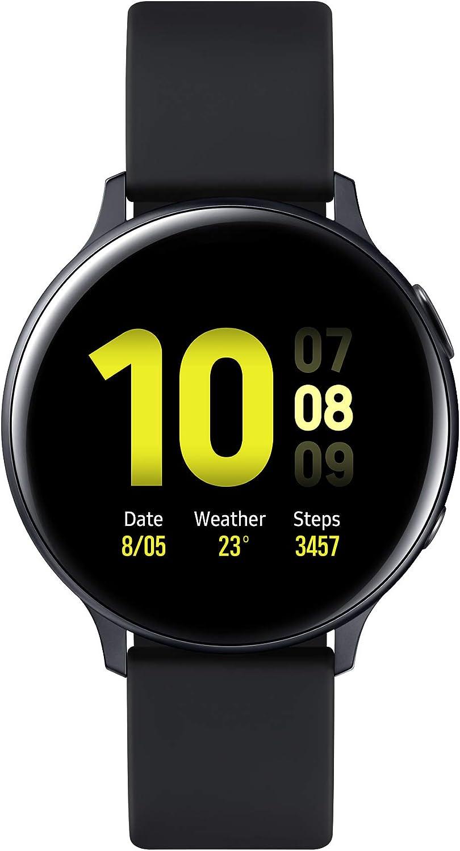 Samsung Galaxy Watch Active 2 (Bluetooth) 44mm, Aluminum, Black