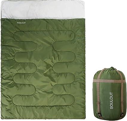 Camp camping Voyage Voyage Sac De Couchage Sommeil Chaud Extérieur Double