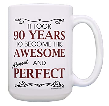 Amazon Com 90th Birthday Gifts For All 90 Years Awesome 90th