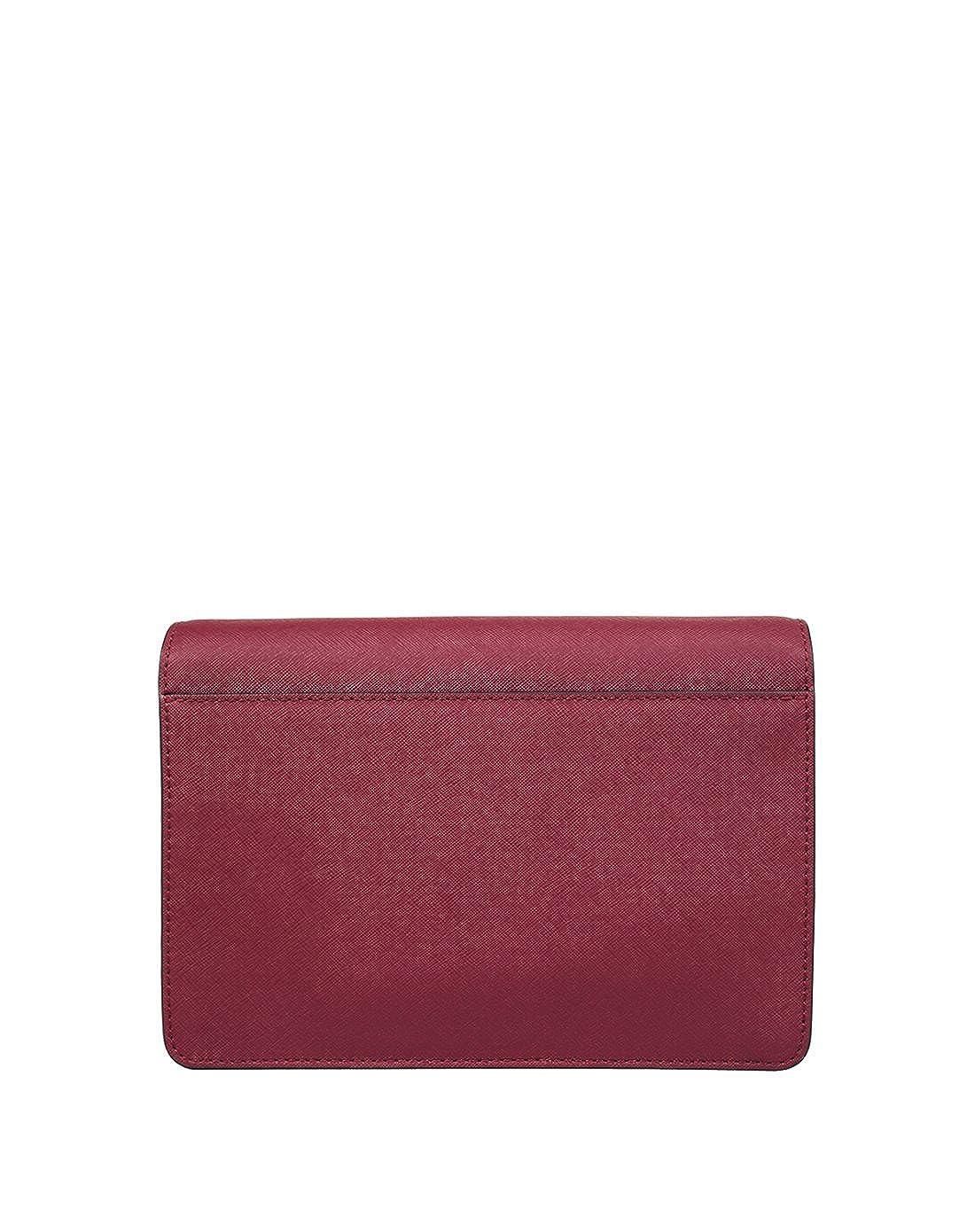1bfedfdd335f2 Michael Kors Daniela Large Flap Gusset Crossbody Mulberry  Amazon.ca  Shoes    Handbags
